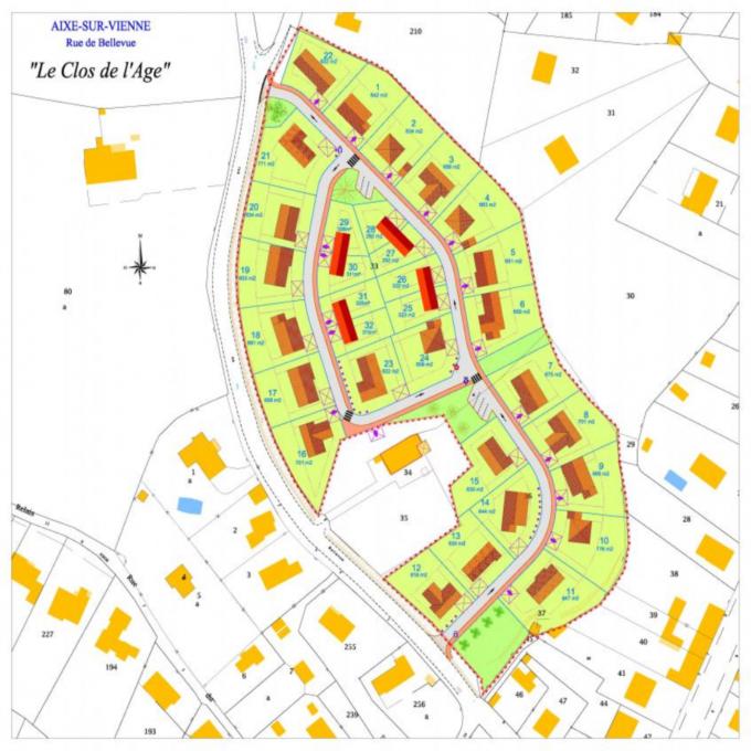 Offres de vente Terrain Aixe-sur-Vienne (87700)